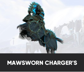 MAWSWORN CHARGER'S REINS MOUNT BOOST