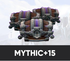 Fast gearing by Mythic+15 (236 ilvl)