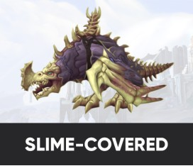 SLIME-COVERED REINS OF THE HULKING DEATHROC MOUNT BOOST