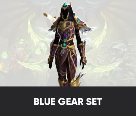 Blue Gear set from PvP (Honor points)